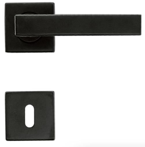 Deurkruk, COSMIC R + E zwart