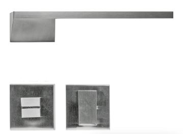 Deurkruk, Seliz R+WC garnituur inox look