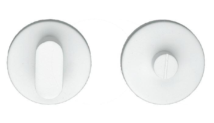 WC-Garnituur, Shape rond wit