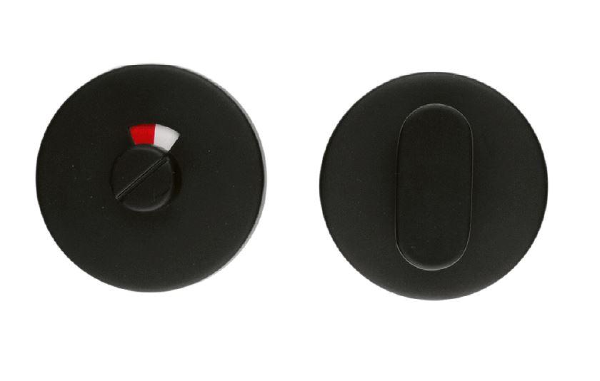WC-Garnituur Shape rond zwart