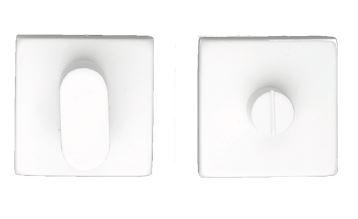 WC-Garnituur, Square shape wit