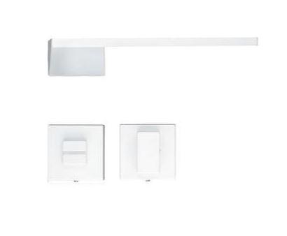 Deurkruk, SELIZ (wit) R + WC sluiting
