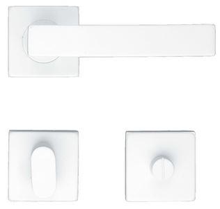 Deurkruk, COSMIC R + WC wit