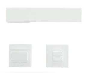 Deurkruk, X-TREME R + WC wit