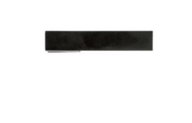 Deurkruk, X-TREME zwart R + No key