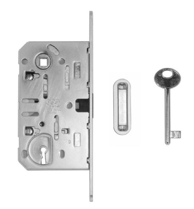 Slot, magneet AGB 22mm inox l. 90mm