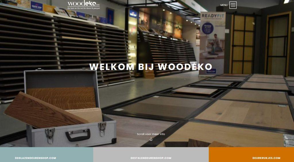 WOODEKO is terug open zonder afspraak!